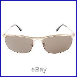 Tom Ford 4956 Mens Tate Gold Designer Fashion Aviator Sunglasses O/S BHFO