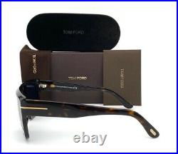 Tom Ford ALESSIO FT0699 52V Dark Havana / Blue 57mm Sunglasses TF0699