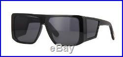 Tom Ford ATTICUS FT 0710 Black/Smoke (01A) Sunglasses