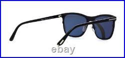 Tom Ford Alasdhair FT0526 526 02A Matte Black Sunglasses Sonnenbrille Grey Lens
