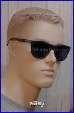 Tom Ford Andrew Unisex Sunglasses Dark Grey Marble Dark Blue Ft 0500 20v