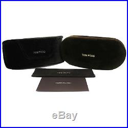 Tom Ford Anoushka Authentic Sunglasses TF371 Black 01B 57mm