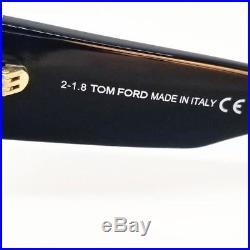 Tom Ford Anoushka Sunglasses Cat Eye Black Gradient Women's FT0371F 01B