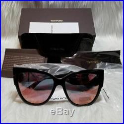 Tom Ford Anoushka Sunglasses Pink Mirrored Women FT0371 01Z