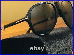Tom Ford Avatar Polarized FT 0381/S 01R/59-18 Folding Sunglasses