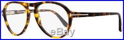 Tom Ford Aviator Eyeglasses TF5413 052 Size 53mm Vintage Havana/Gold FT5413