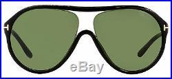 Tom Ford Aviator Sunglasses TF443 Edison 01N Black FT0443