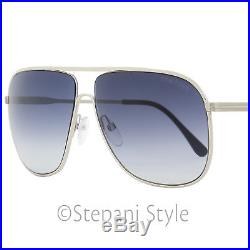 Tom Ford Aviator Sunglasses TF451 Dominic 16W Palladium/Black FT0451