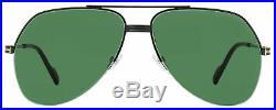 Tom Ford Aviator Sunglasses TF644 Wilder-02 01N Shiny Black 62mm FT0644