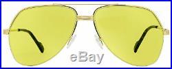 Tom Ford Aviator Sunglasses TF644 Wilder-02 32E Gold/Havana 62mm FT0644