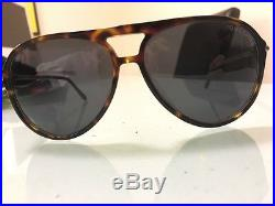 Tom Ford Aviator Toirtoise Shell Frame Sunglasses Worth $750 Like New with Case