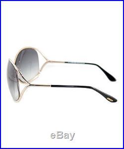Tom Ford Black & Gold Miranda Sunglasses NWT