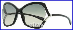 Tom Ford Butterfly Sunglasses TF579 Astrid-02 01B Black 61mm FT0579