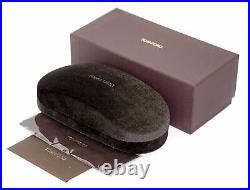 Tom Ford Butterfly Sunglasses TF648 Dahlia-02 01B Black/Gold 55mm FT0648