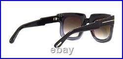 Tom Ford CHRISTIAN 0729 05B Black & Grey Gradient Sunglasses Sonnenbrille 53mm