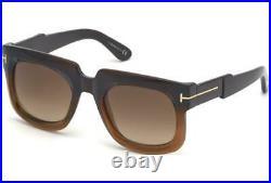 Tom Ford CHRISTIAN FT 0729 48F Dark Brown Gradient Sunglasses Sonnenbrille 53mm