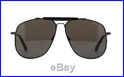 Tom Ford CONNOR-02 FT 0557 shiny black/grey (01A A) Sunglasses
