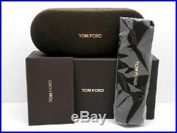 Tom Ford CONNOR-02 FT 0557 shiny rose gold/light blue green (28V) Sunglasses