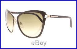 4f717c12853 Tom Ford Celia TF 322 28F Brown   Gold  Brown Gradient Cateye Womens  Sunglasses