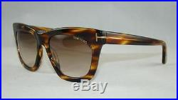 Tom Ford Celina TF 361 FT0361 50F Havana Sunglasses Brown Gradient Lens Size 55