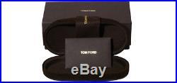 Tom Ford Chris Men's Matte Black Pilot Sunglasses FT0462 02N Made In Italy
