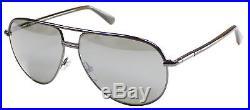 Tom Ford Cole FT0285 TF 285 52F 61MM Dark Havana Metal Aviator Sunglasses