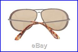Tom Ford Cyrelle TF 109 08J Havana & Gunmetal / Brown Gradient Mens Sunglasses