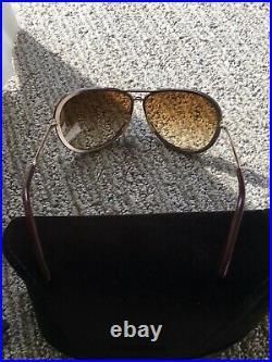Tom Ford Cyrille Havana Gold / Brown Gradient Sunglasses TF109 28B