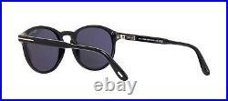 Tom Ford DANTE FT 0834 Black/Grey Smoke (01A) Sunglasses