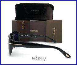 Tom Ford DUKE FT0754 01A Black/ Smoke 59mm Sunglasses TF0754