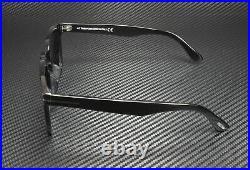 Tom Ford Dax FT0751-F-N 01A Shiny Black Smoke 53 mm Men's Sunglasses