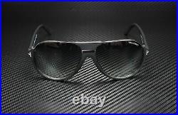 Tom Ford Dimitry FT0334 02W Matte Black Gradient Blue 59 mm Men's Sunglasses