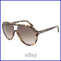 Tom Ford Edison Sunglasses (Havana Frame /Brown Lens)