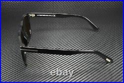 Tom Ford Eric-02 FT0595 01J Shiny Black Roviex 55 mm Men's Sunglasses