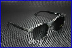 Tom Ford Eric-02 FT0595-F 20A Shiny Striped Grey Smoke 55 mm Men's Sunglasses