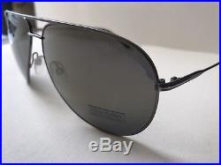 6bf83c4cf4 Tom Ford Erin TF 466 29P Ruthenium with Gold Mirror Lenses Aviator  Sunglasses