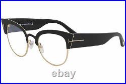 Tom Ford Eyeglasses Alexandra-02 TF607 TF/607 001 Black Optical Frame 51mm