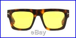 Tom Ford FAUSTO FT 0711 Havana/Brown (56E) Sunglasses
