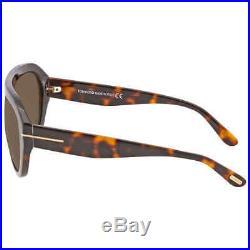 Tom Ford FELIX Brown Pilot Men's Sunglasses FT0589-56E FT0589-56E