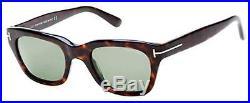 Tom Ford FT 0237 FT0237 Snowdon dark havana green 52N Sunglasses