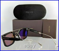 Tom Ford FT 0541 Alex 52E Brown Sunglasses