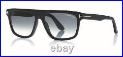 Tom Ford FT 0628 Cecilio 02 01B Shiny Black Sunglasses