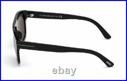 Tom Ford FT 0777-N Thor 01A Shiny Black/Smoke Men's Sunglasses