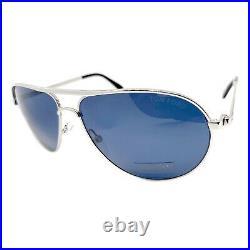 Tom Ford FT0144 Marko Sunglasses Color 18V Silver Size 58MM TF144