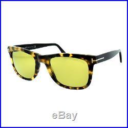 Tom Ford FT0336 55N Havana Men's Full Rim Square Sunglasses