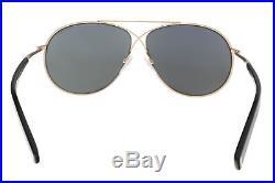 Tom Ford FT0374/S 28Q Eva Gold Aviator Sunglasses