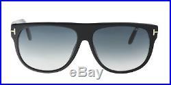 Tom Ford FT0375/S 02N Kristen Black Rectangle Sunglasses
