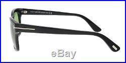 Tom Ford FT0494/S 01N FREDERIK Black Square Sunglasses