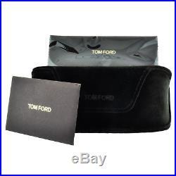 Tom Ford FT0506 28W Shiny Rose Gold Antonia Square Aviator Sunglasses Lens Cate