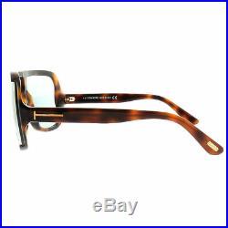 Tom Ford FT0559 56A Havana Aviator 100% UV Light Gray Lens Sunglasses